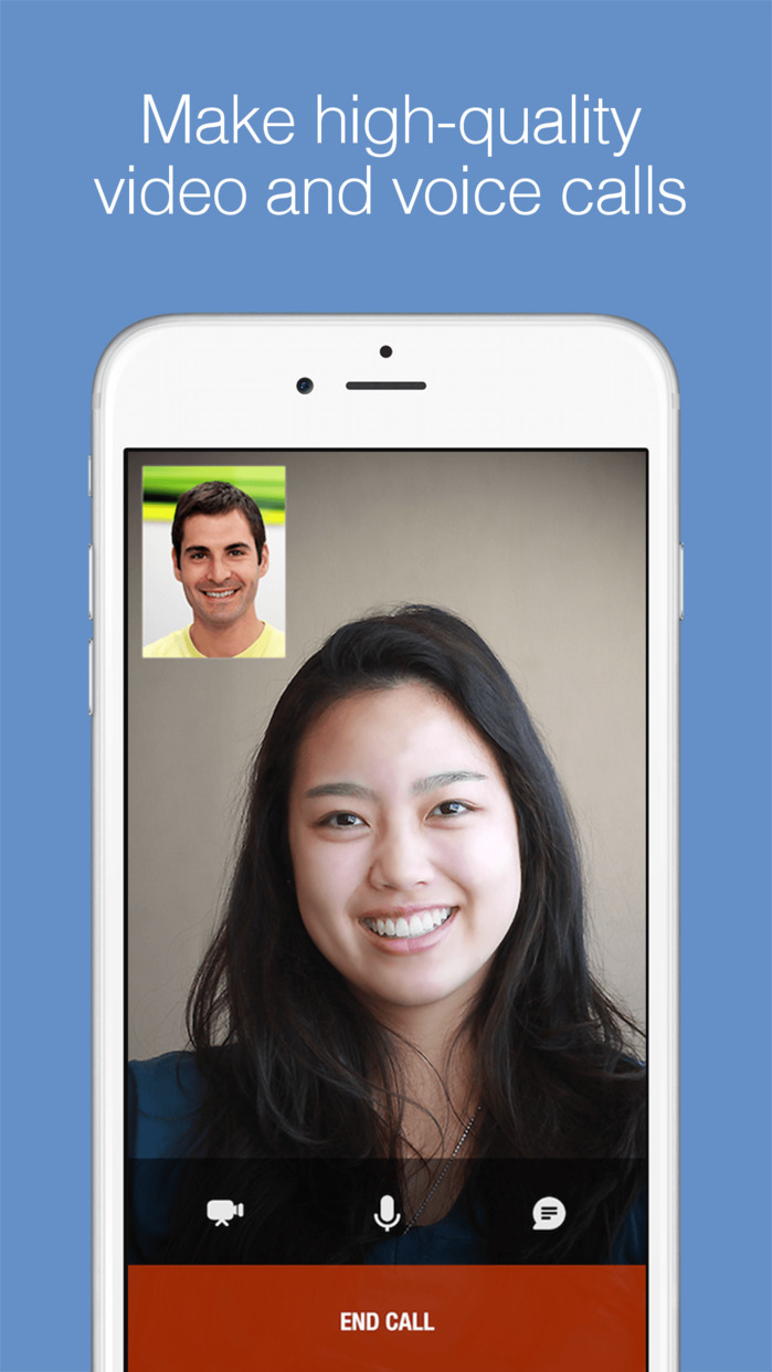 imo video calls and chat Screenshot