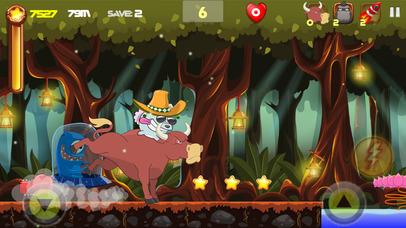 Super Alien - Edless Arcade Adventure Screenshot on iOS