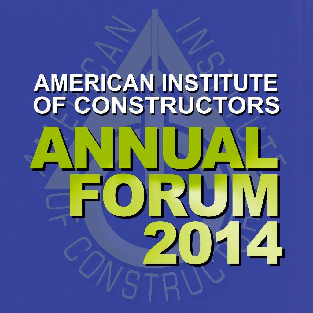 AIC Annual Forum 2014