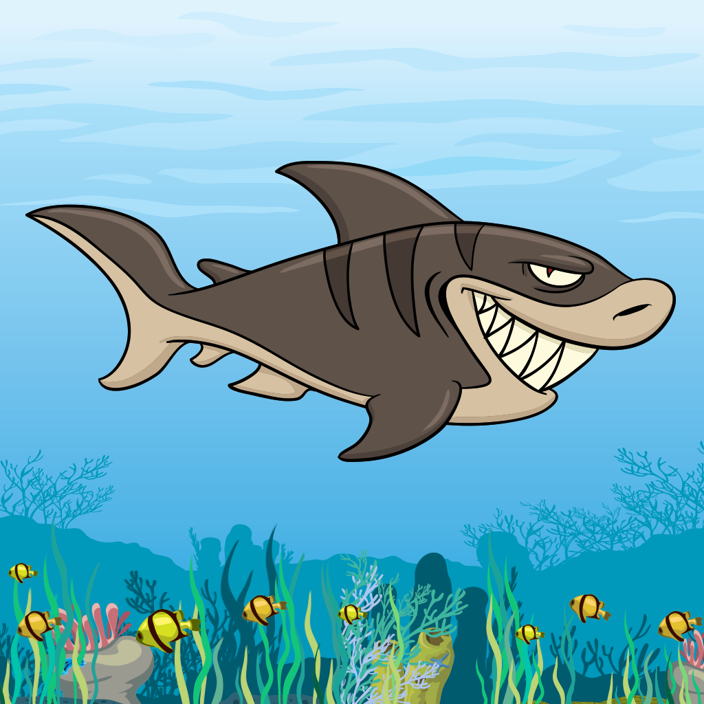 Free Hungry Shark Game by Fun Apps
