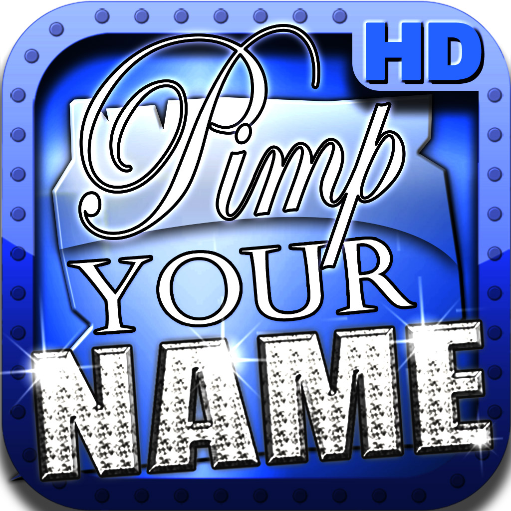 Pimp Your Name HD-unique backgrounds with YOUR Name!