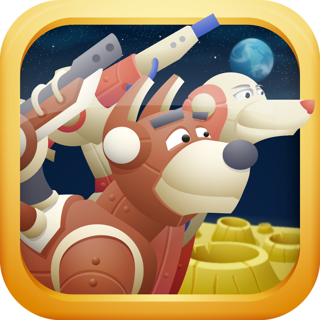 Space Wars: Robot Dogs Attack! PRO