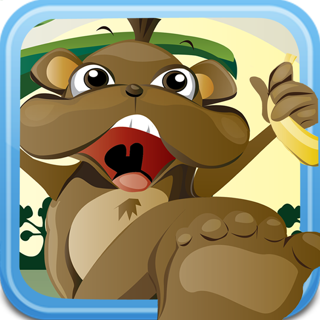 Banana Monkey Kong - Jump and Run Free icon