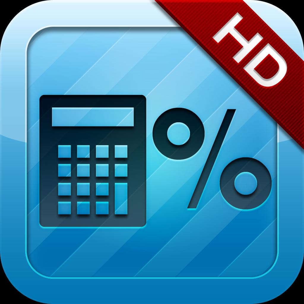 Percent And Tax Calculator HD