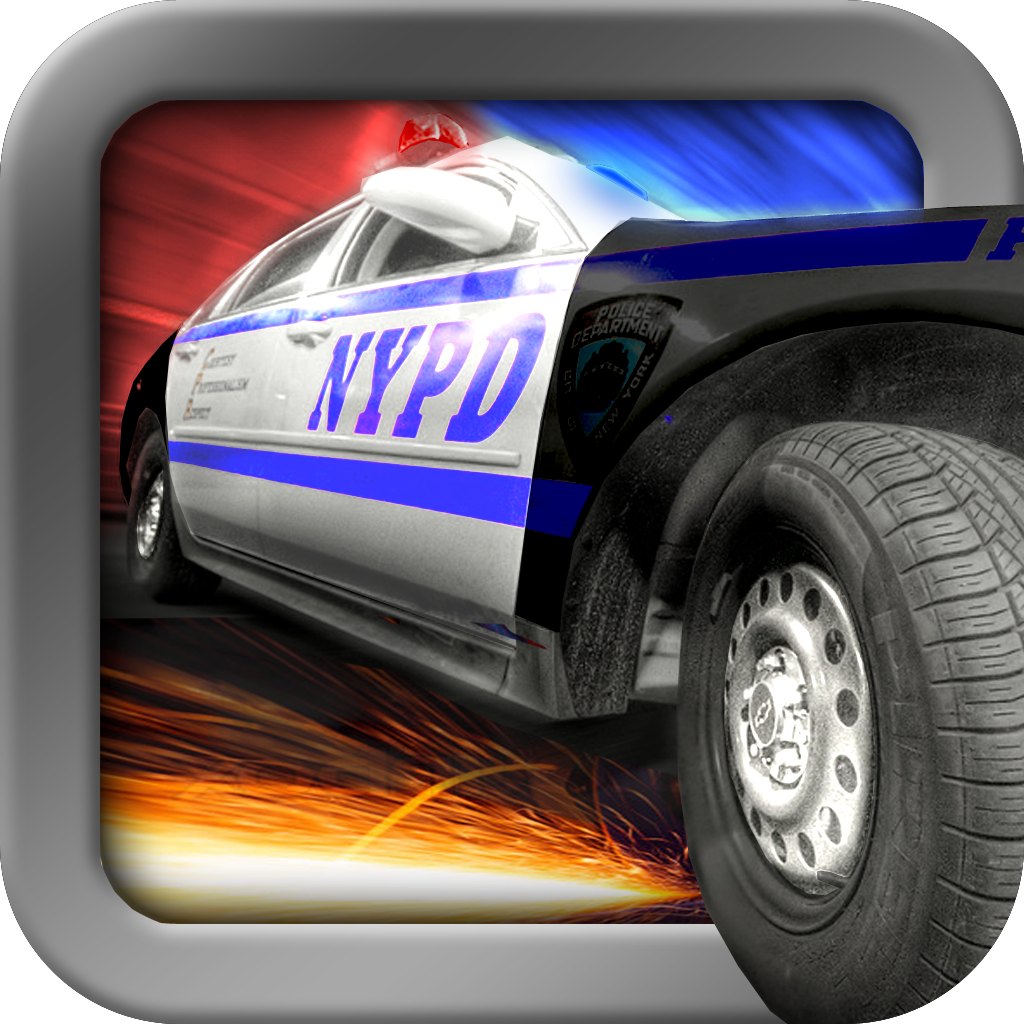 Nitro Cops Chase - Turbo Smash Rally Free