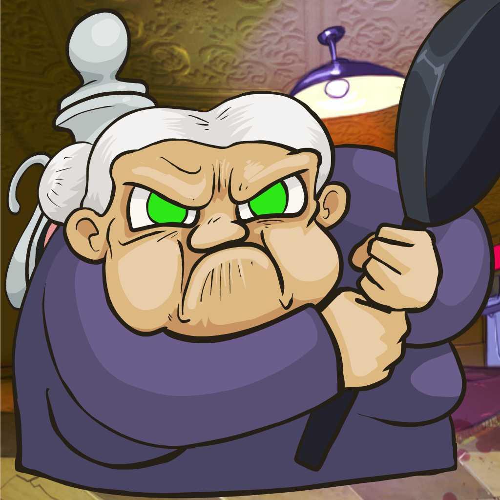 Grandma Defends Kitchen