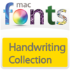 10 款手寫型字體 MacFonts-HandwritingFonts for Mac