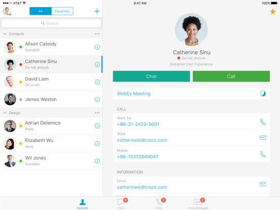 Cisco Jabber | Explore the app developers, designers and Technology
