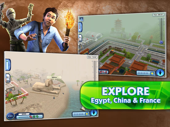 the sims 3 world adventures apppicker