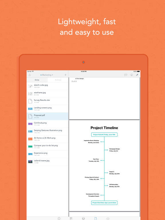 Whiteboard - Tasks, To-do Lists & Project Management Screenshot
