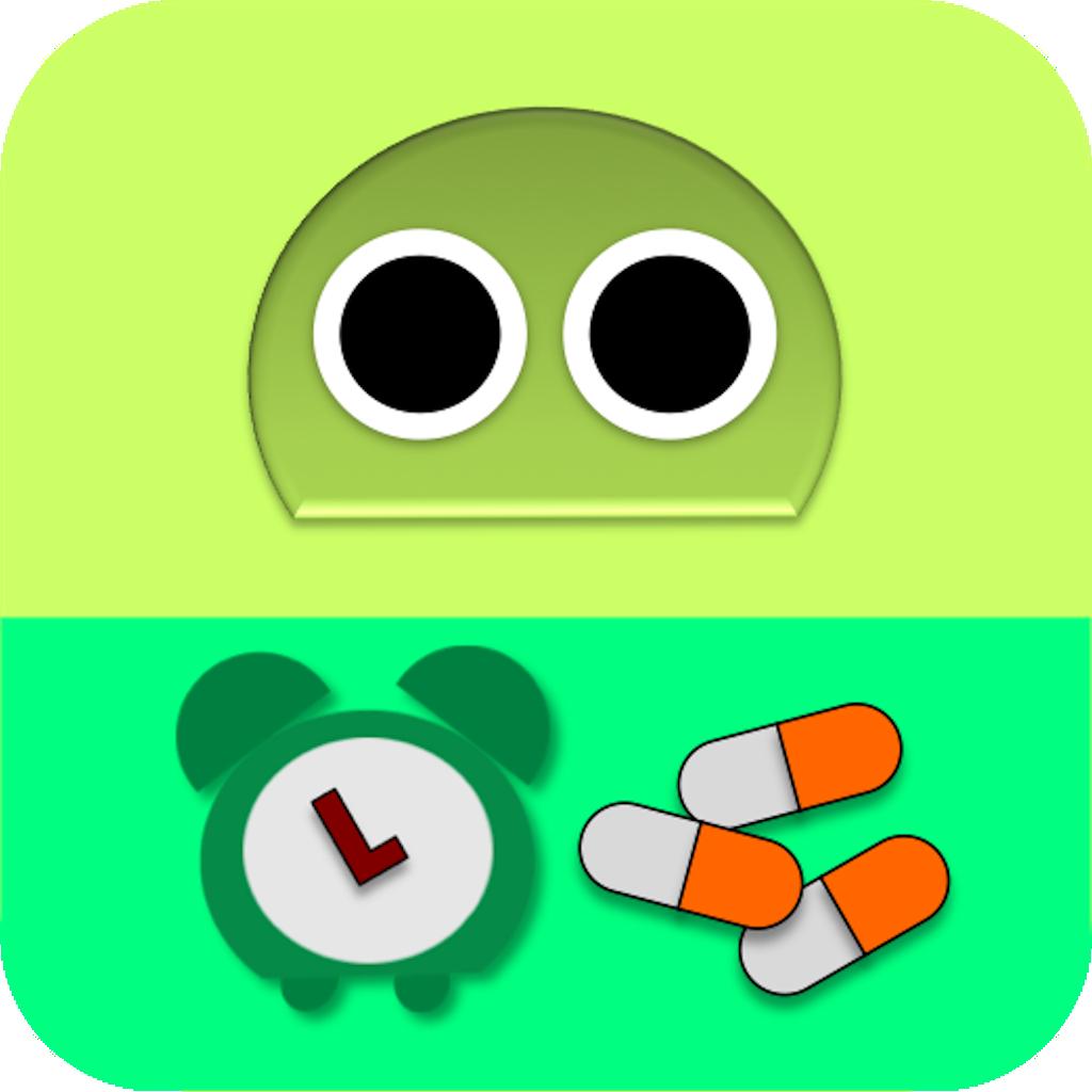 Meds Alarm Robo for iPad icon