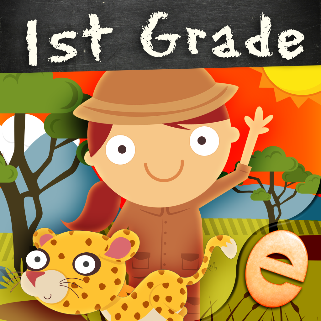 Animal First Grade Math Games for Kids with Skills