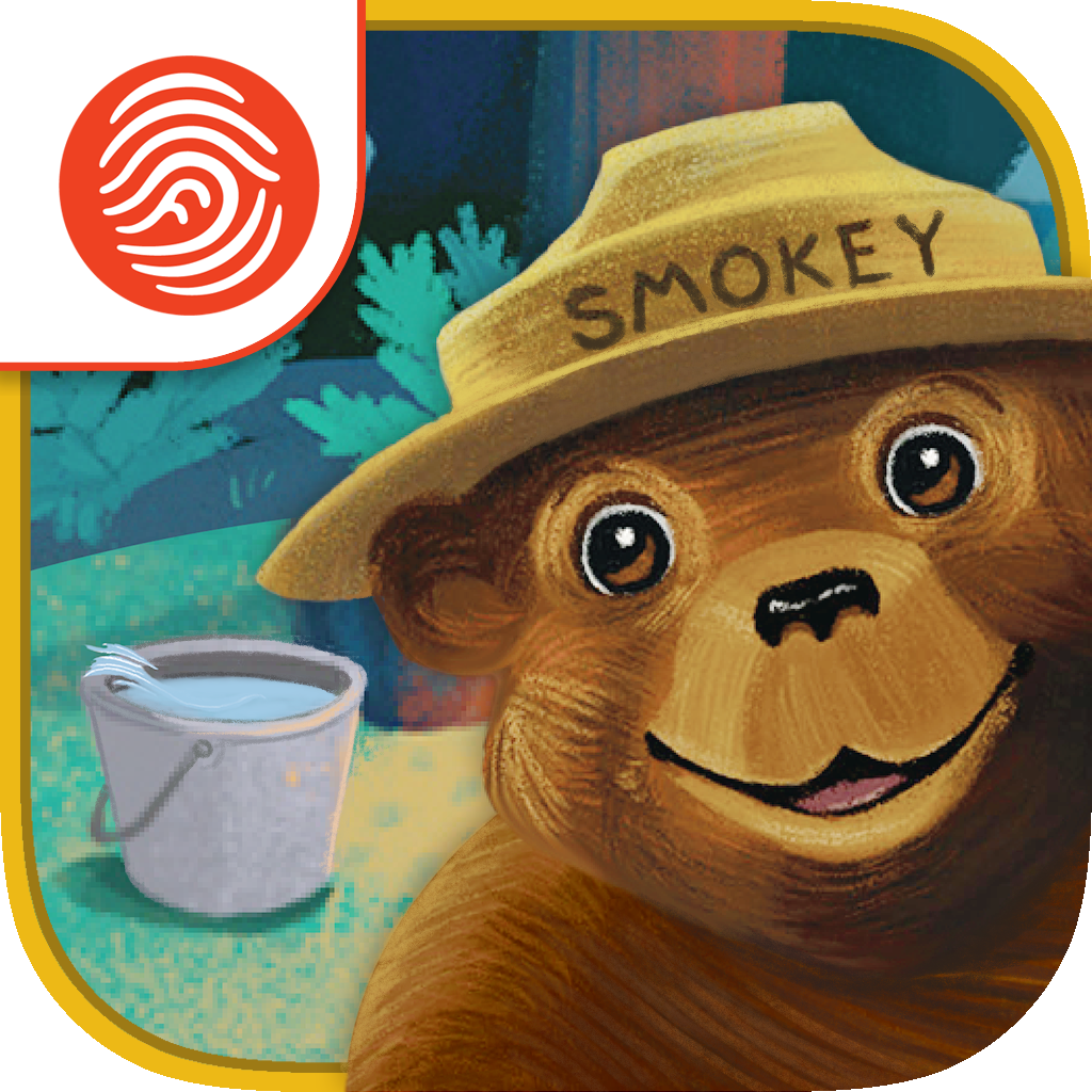 Smokey Bear and the Campfire Kids - A Fingerprint Network App