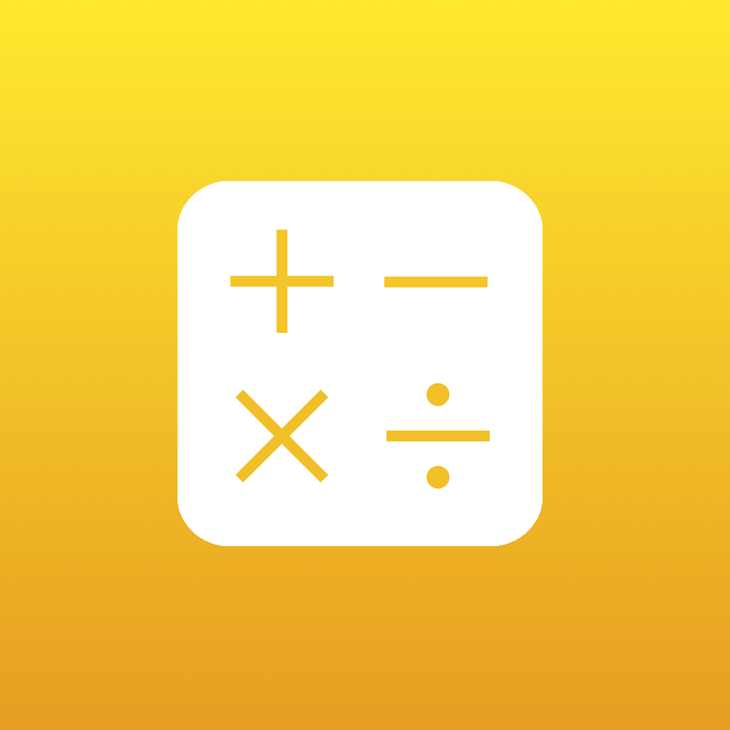 tinyCalc - Custom Calculator App & Widget