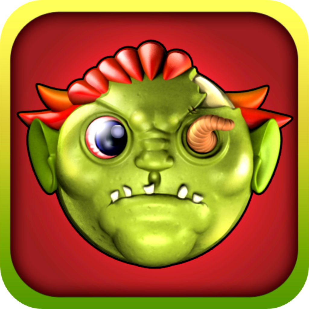 Zombie Match-3 - Halloween Monster Sliding & Matching Puzzle