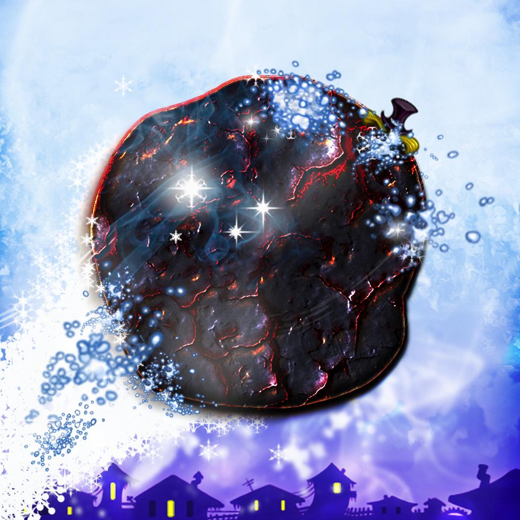 Snowman Shot - Free Fire Ball Shooter Arcade Game icon
