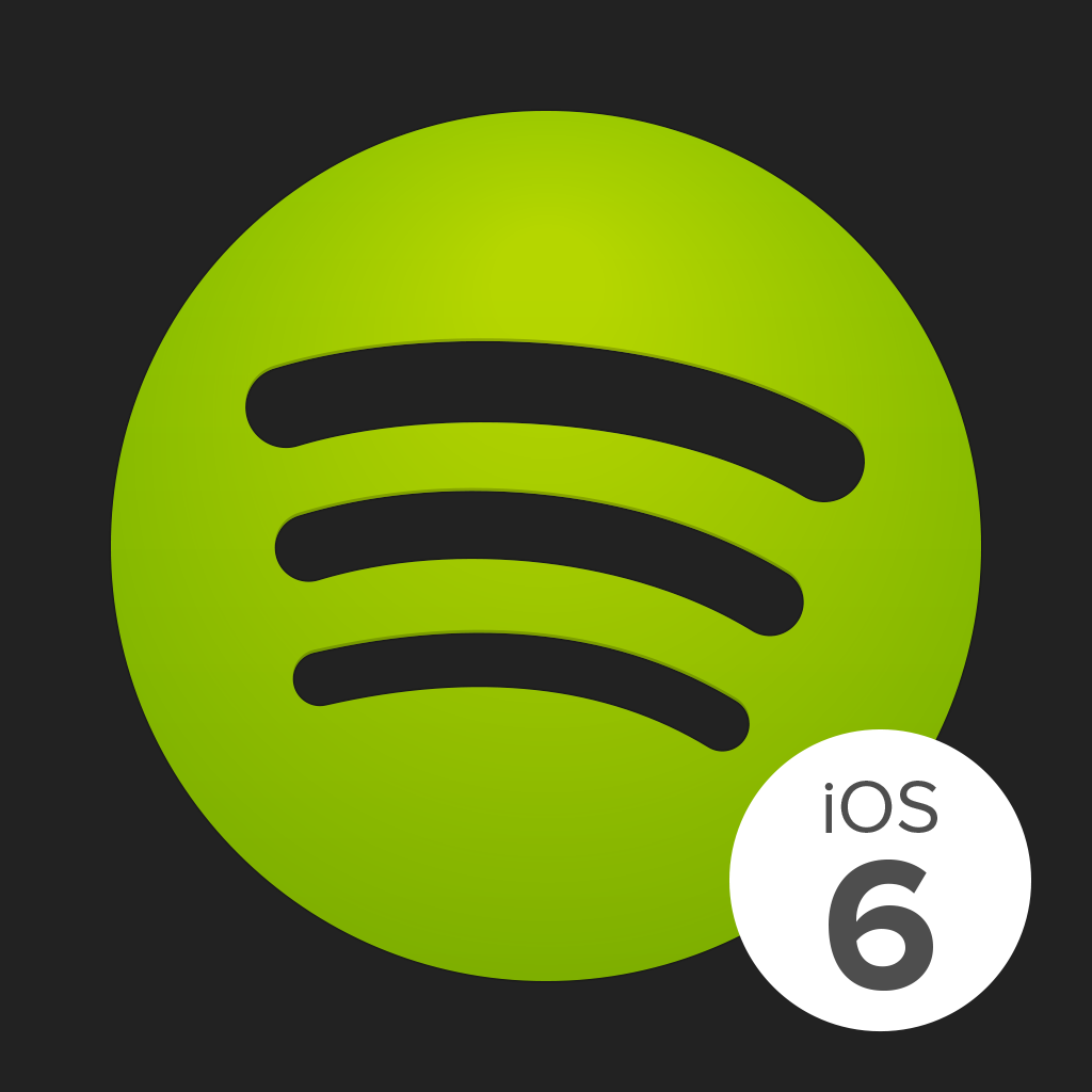 Spotify Music for iOS 6