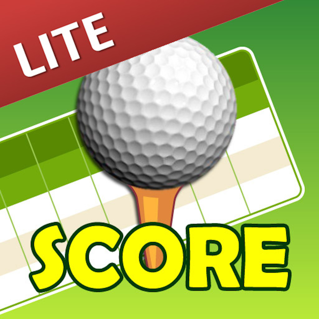 myGolfScore Lite - The Simplest Golf Scorecard
