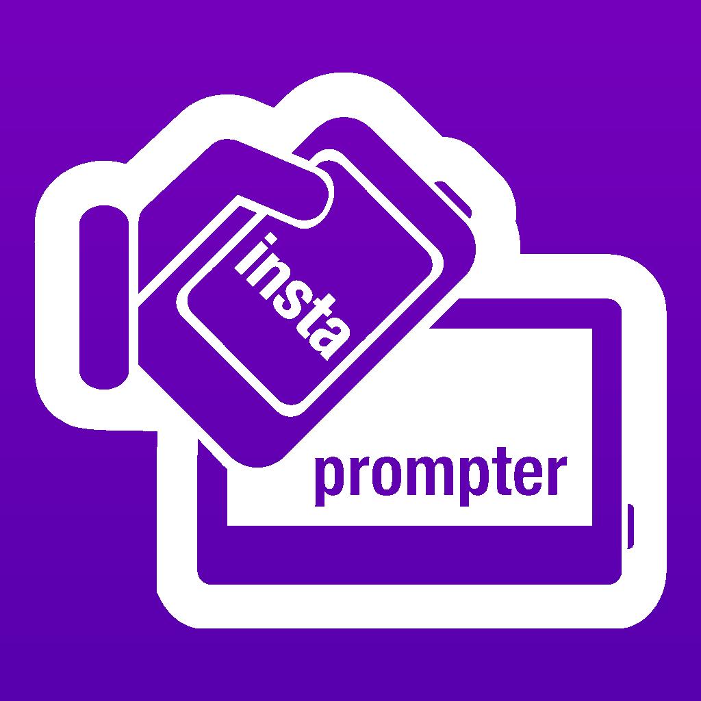 InstaPrompter Secret Live Messaging for Business and Politics - Receiver App