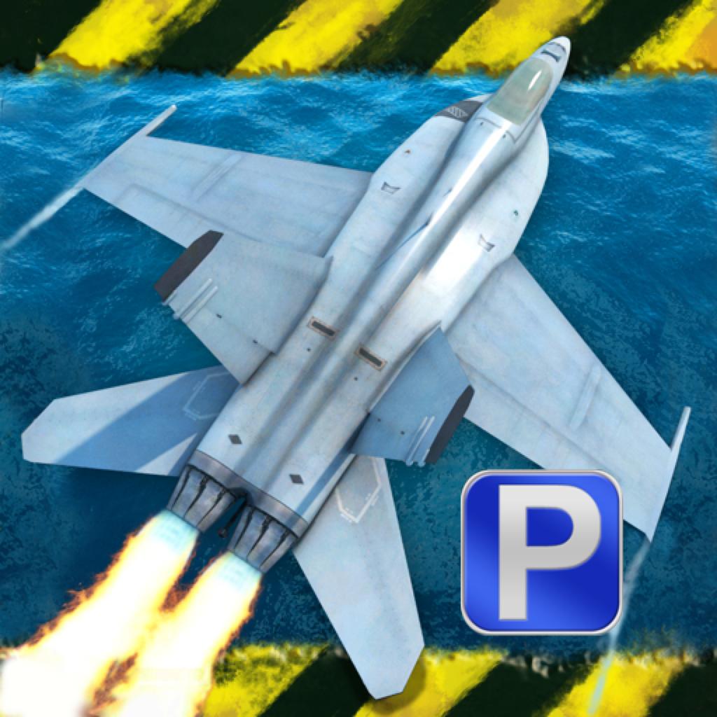F18 Fighter Jet Flight Simulator - Emergency Landing Air Combat Simulation Flying & Parking Games