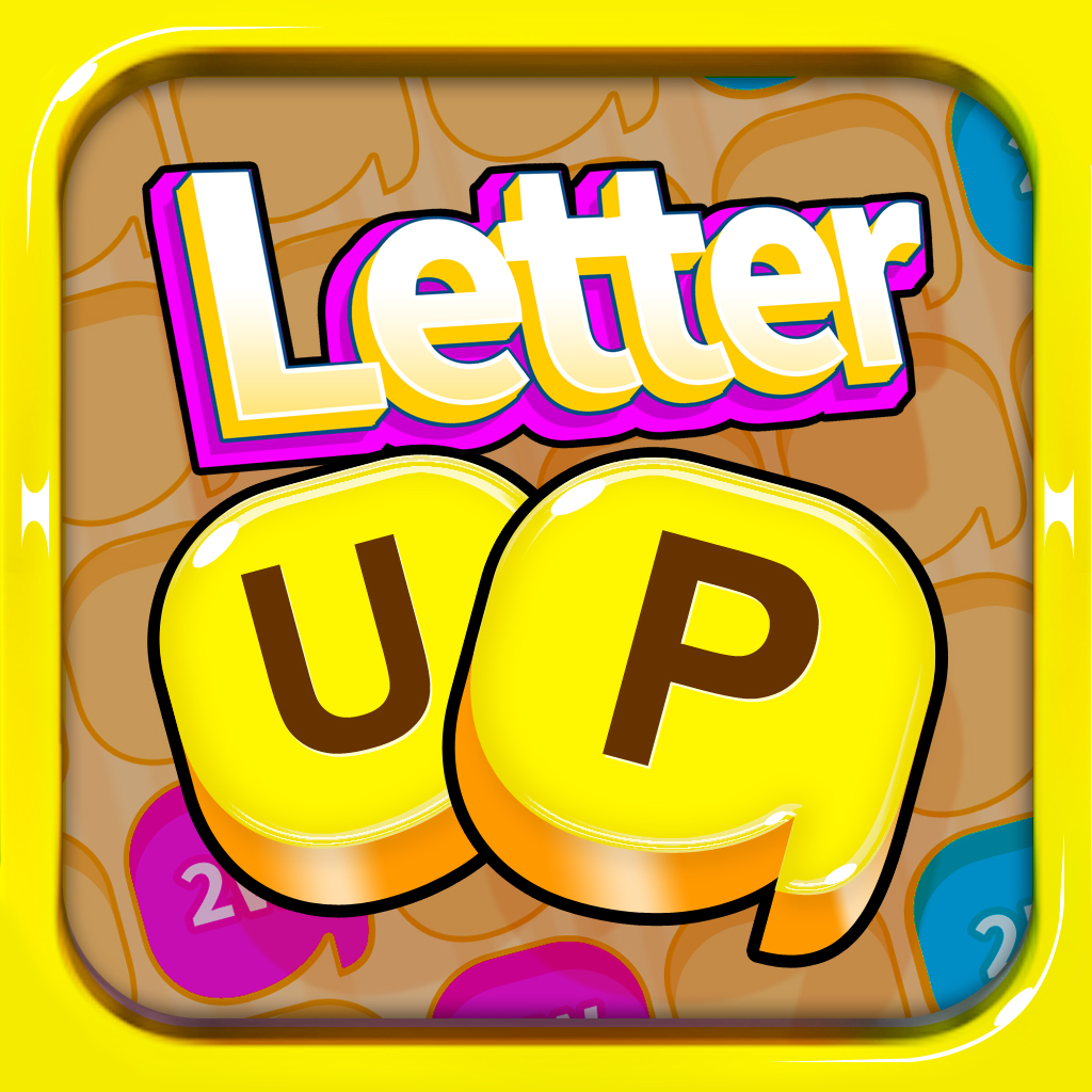 Letter UP: Live Word Game for iPad icon