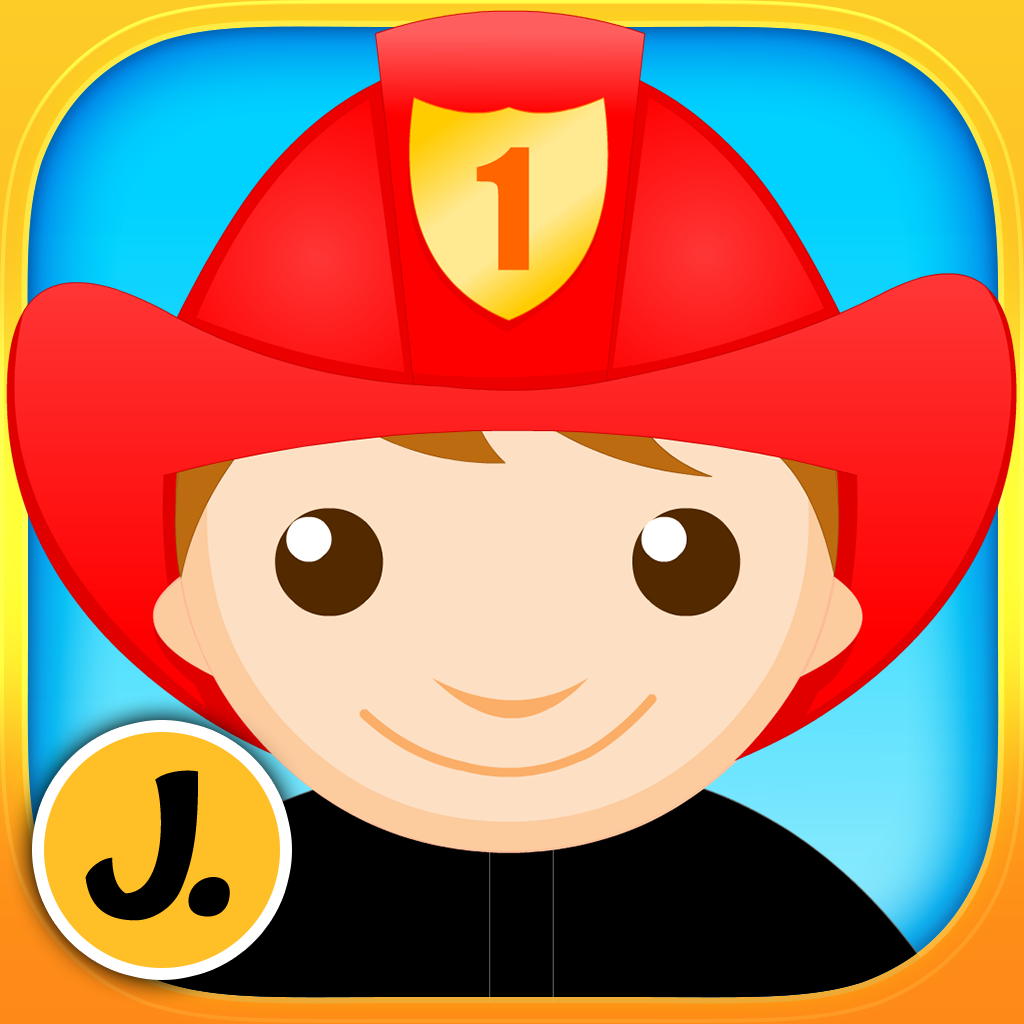 Professions Puzzle - Logic Learning Game with Different Occupations like Police Officer, Firefighter, Construction Worker, Astronaut for Toddlers and Preschool Kids