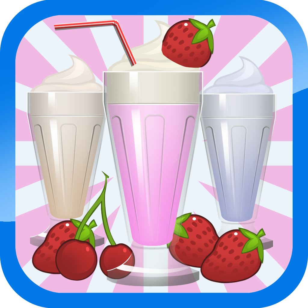 Milkshake Smoothie Maker - Frozen Dessert Food Creation Free icon