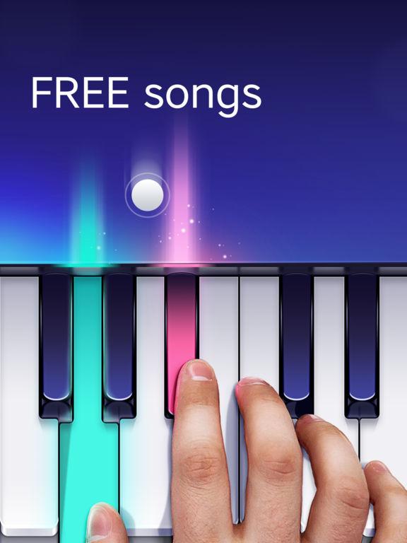free piano app by yokee screenshot. Black Bedroom Furniture Sets. Home Design Ideas