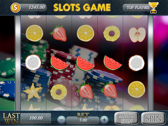 You spin slot machine
