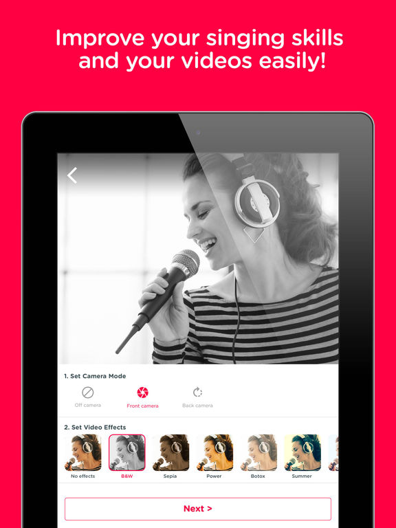 Red Karaoke Sing & Record - appPicker