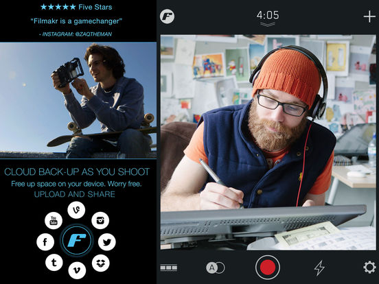 free movie making apps for ipod