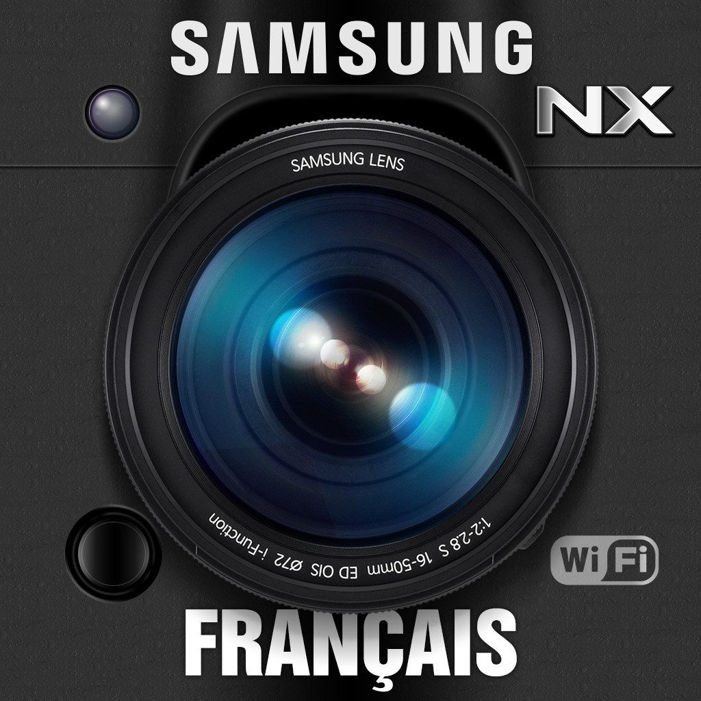 Samsung SMART CAMERA NX for iPad (French)