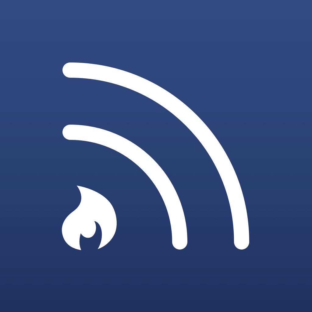 Fiery Feeds for iPad - An RSS reader for Feedly, Feedbin, MnmlRdr, Feed Wranger and Fever