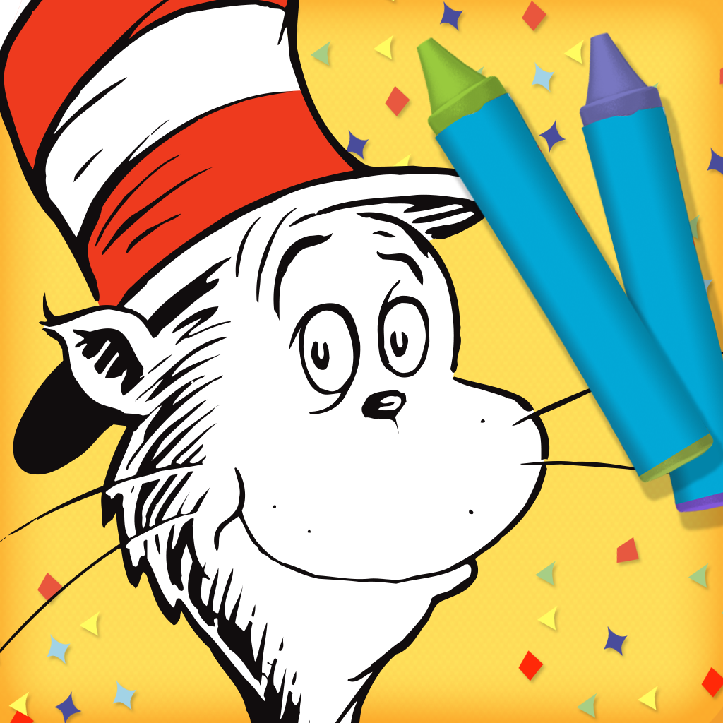 Dr. Seuss's The Cat in the Hat Color & Create!