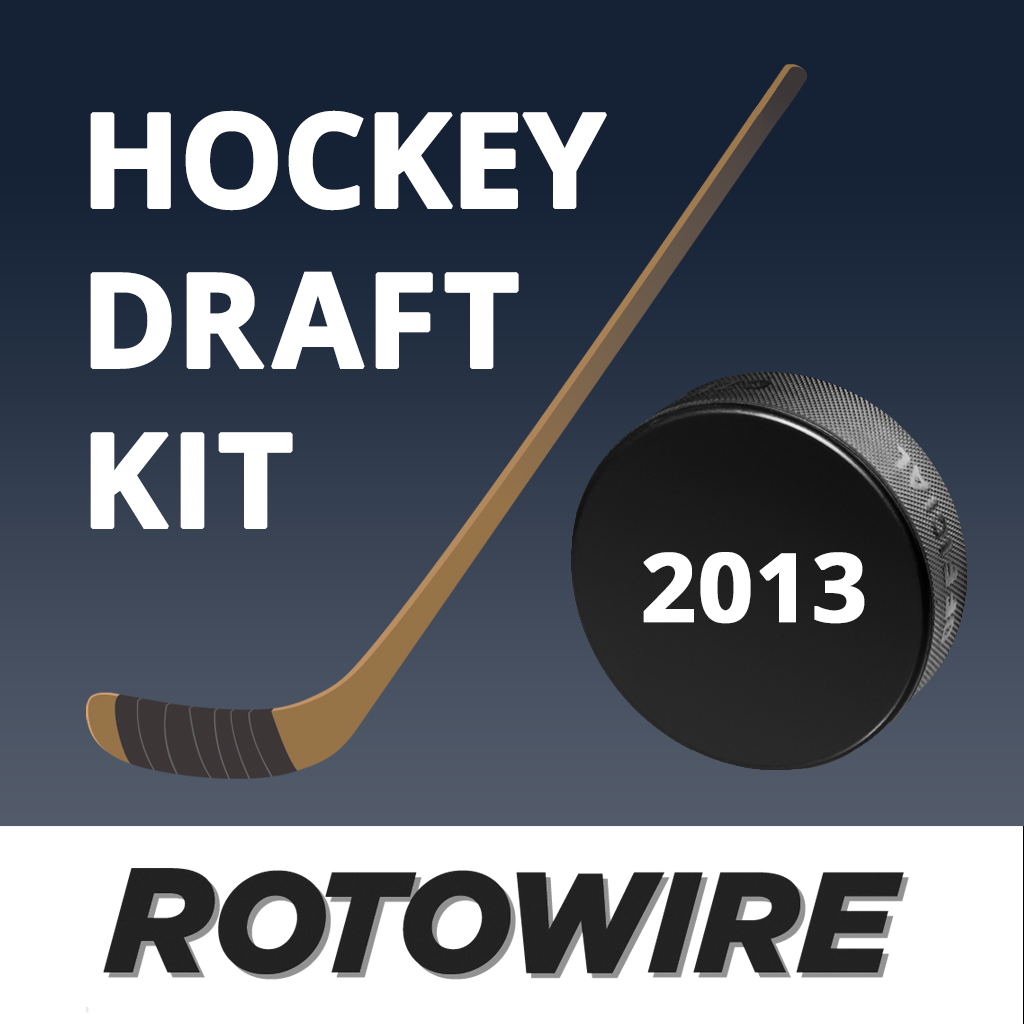 RotoWire Fantasy Hockey Draft Kit 2013