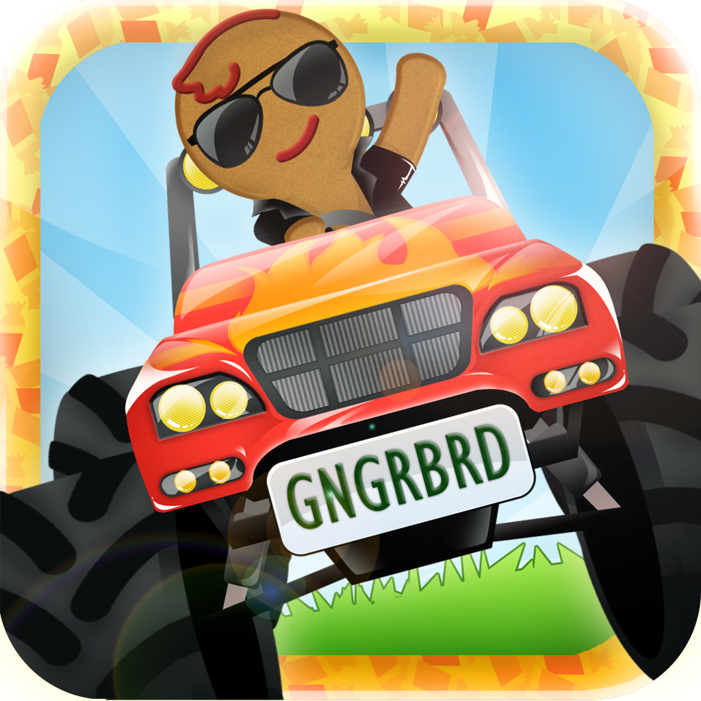 A GingerBread Monster Truck Chase - Multiplayer Racing ...