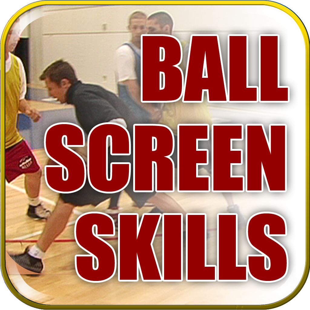 Mastering The Ball Screen: Pick & Roll Skills and Drills - With Coach Ganon Baker - Full Court Basketball Training Instruction icon