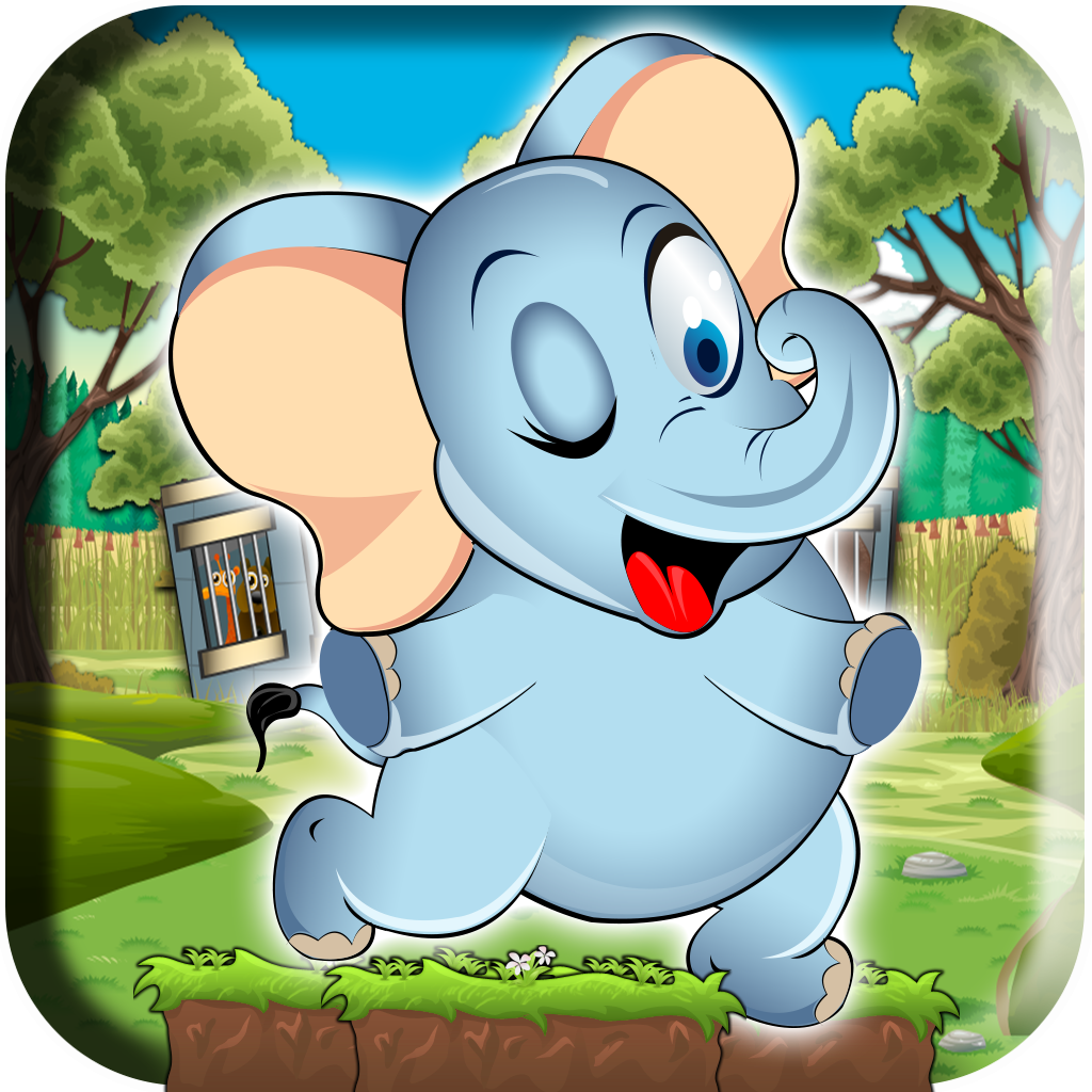 A Super Elephant Run - An Addictive Animal Zoo Escape Rush Full Version
