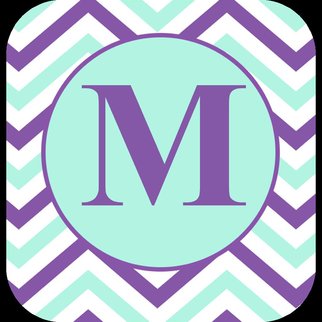 Monogram It - Free Custom Wallpaper and Home Screen Creator