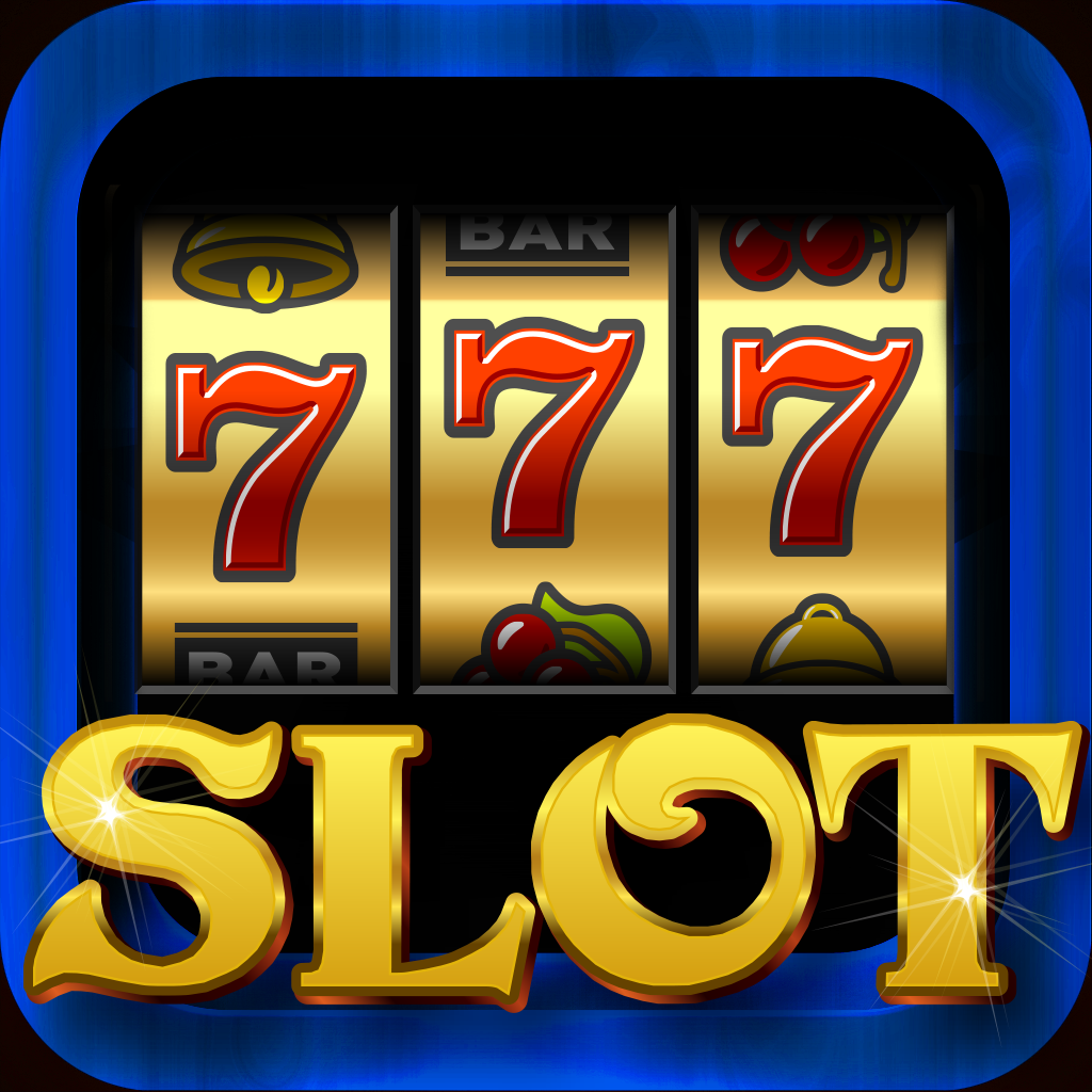 Slot machine icon vector