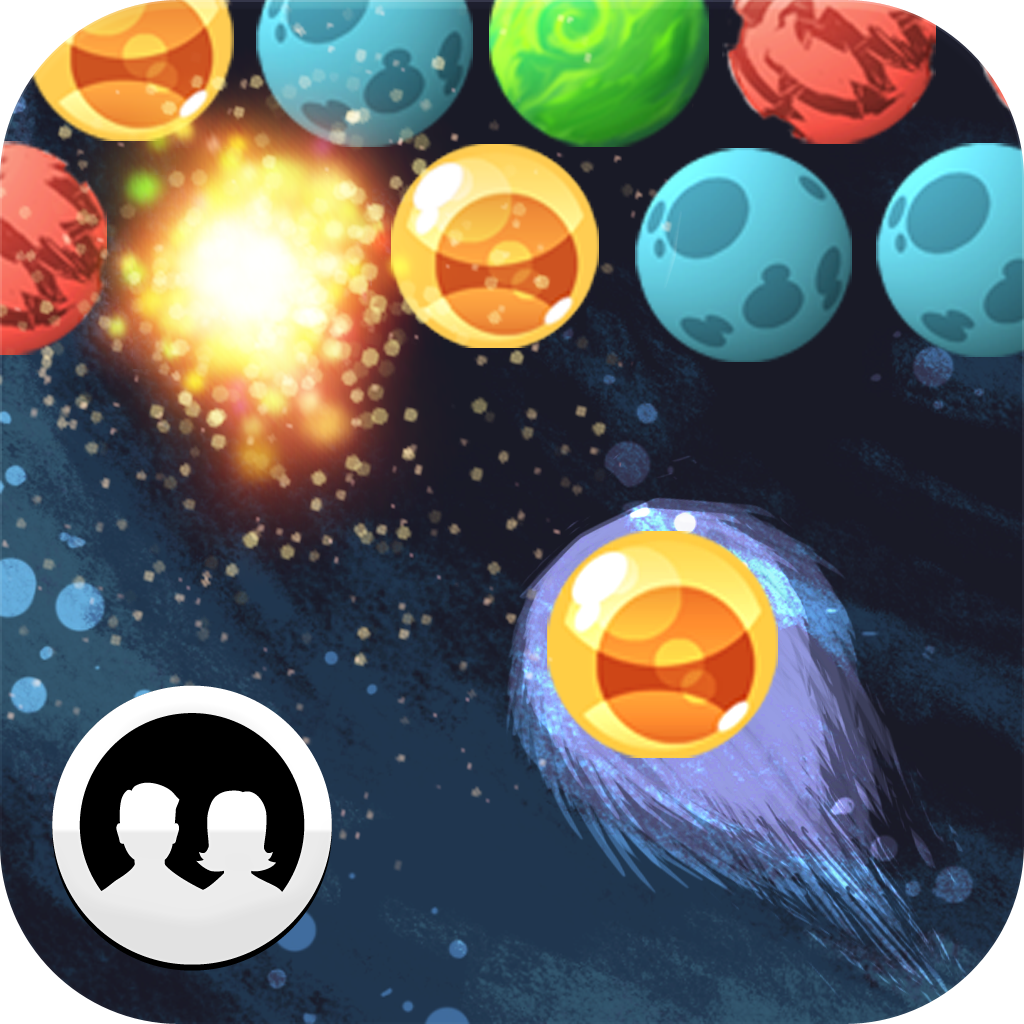 Bubble Galaxy With Buddies Ad-Free icon