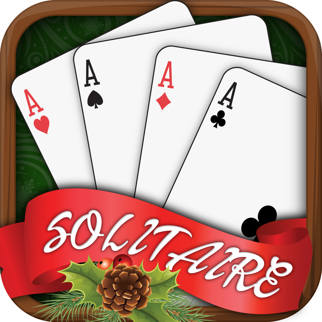 Golden Bet Solitaire - Christmas Cards Free Play icon