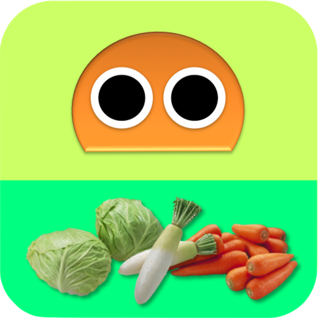 Vegetables Robo FREE for iPad icon