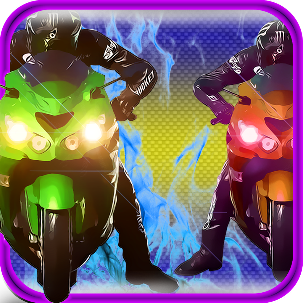 Motor Bike Night Rally Pro - Nitro Boost icon