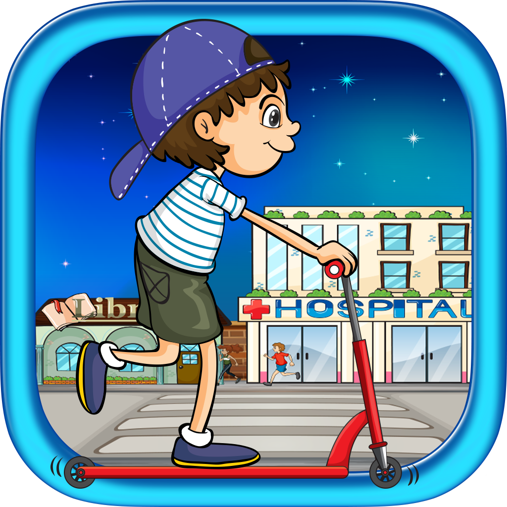 Ace Street Scooter for Kids - A Fast Turbo Highway Racing Madness - Full Version