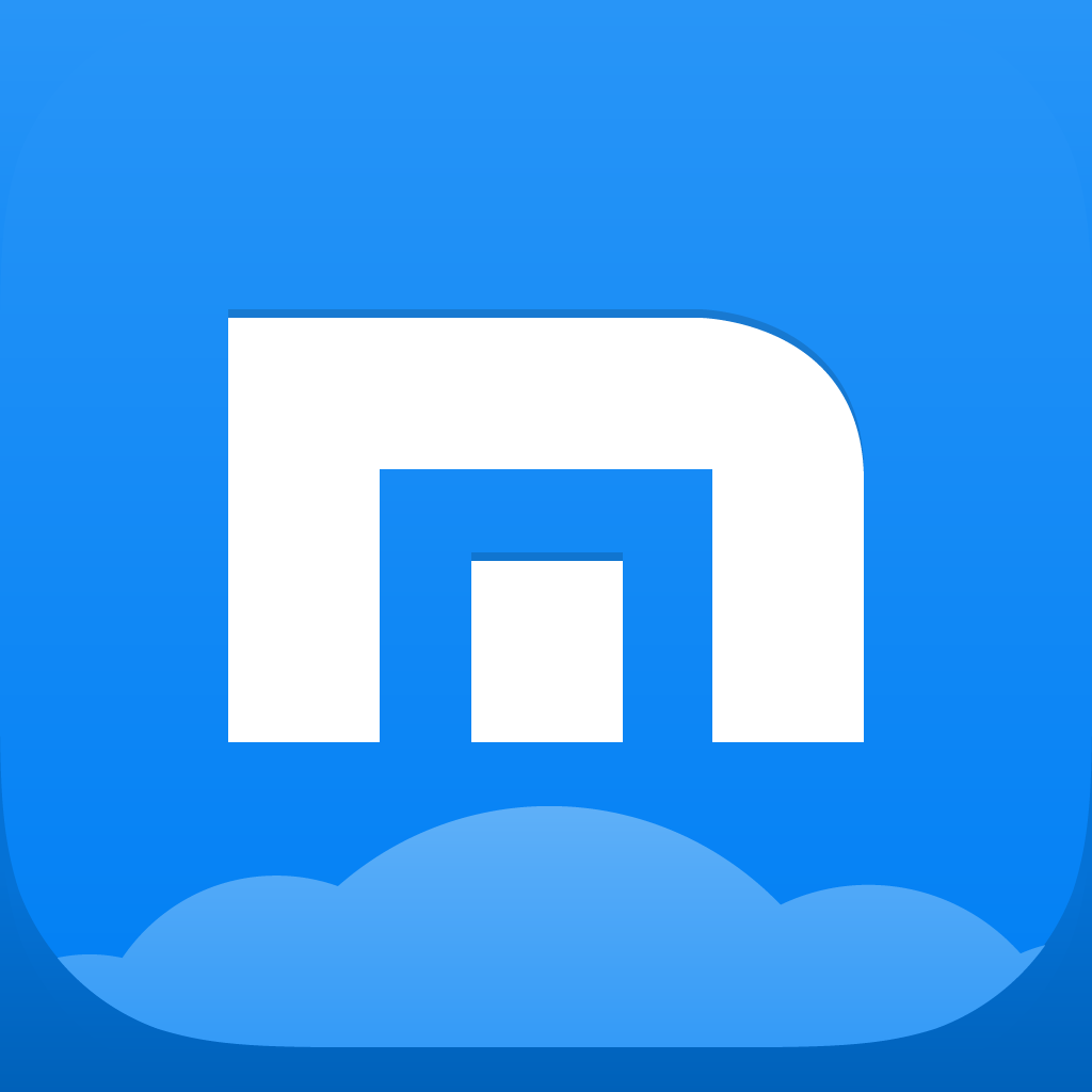 Maxthon  Web Browser Free -  Fast mobile browser for seamless cross-device browsing