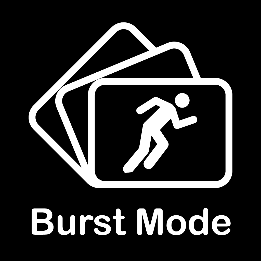Burst Mode  - High speed camera