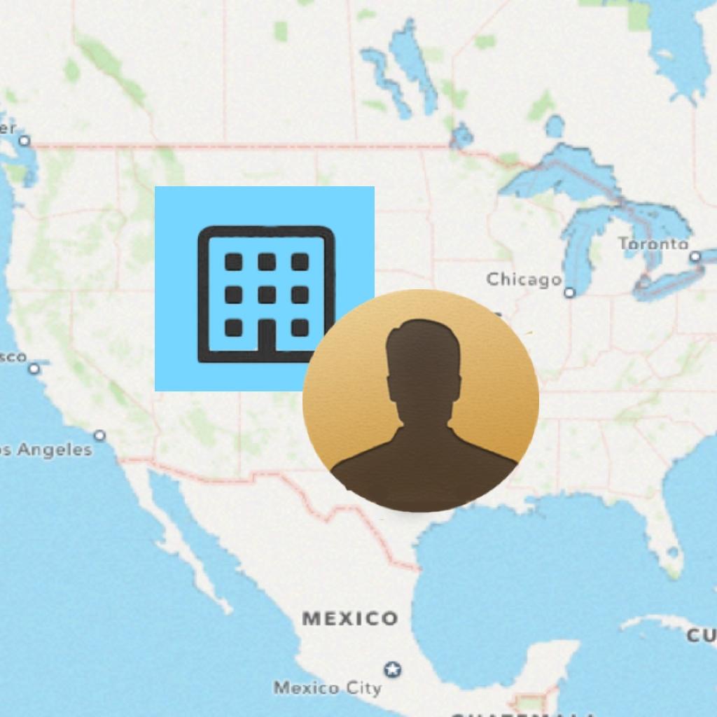 Contact Map App