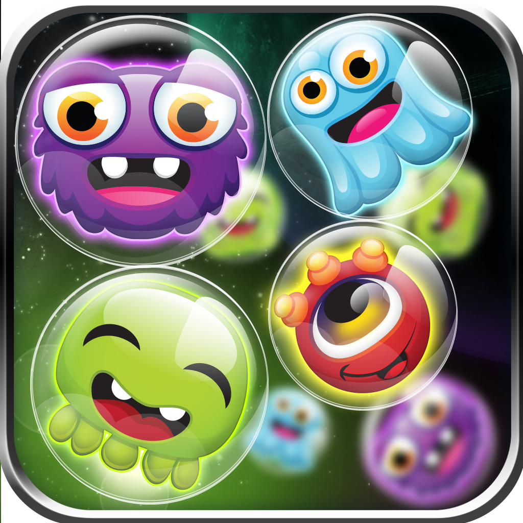 Bubble Galaxy BOOM! Tiny Alien Dots Match - Full Version icon