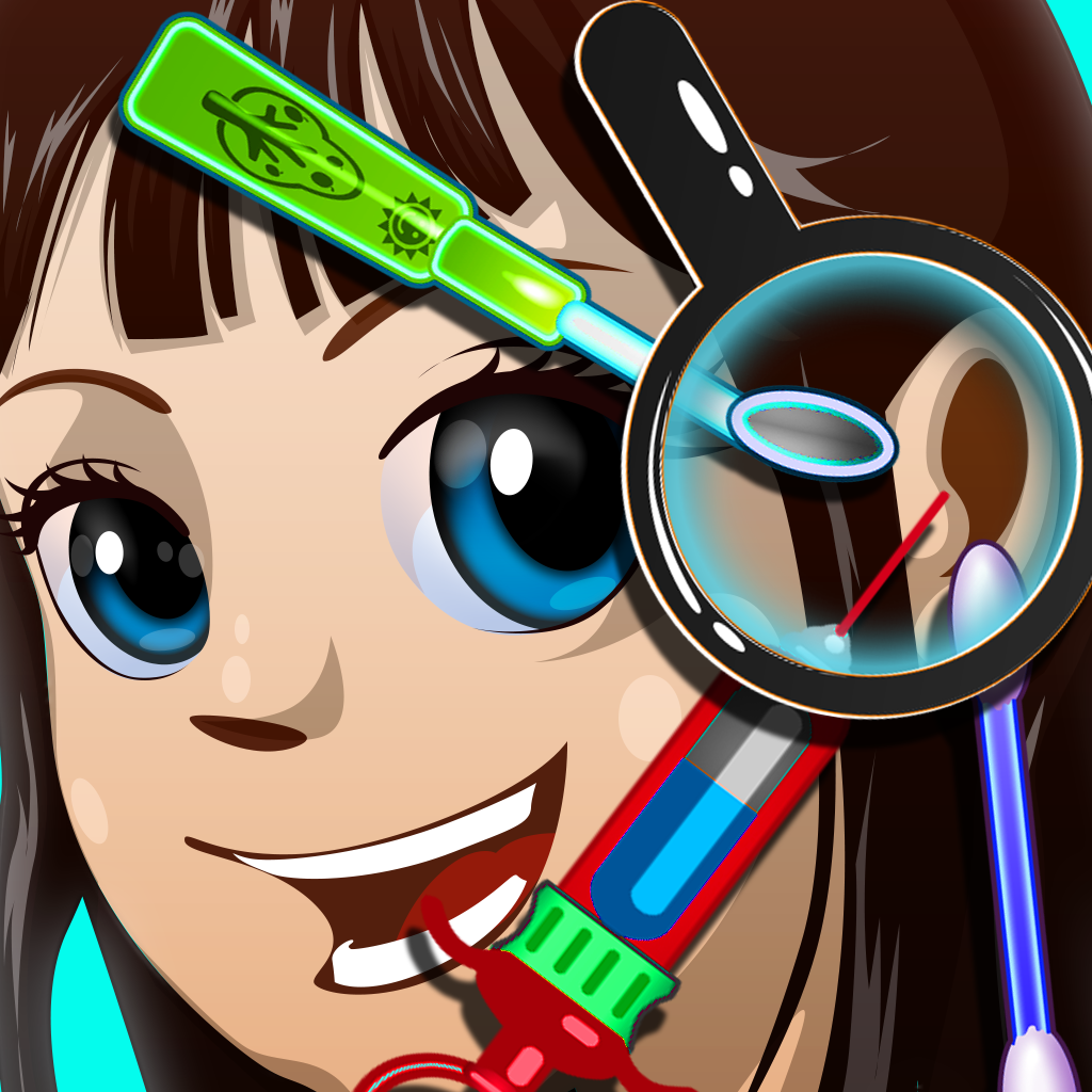 Awesome Kids Ear Doctor - Free Makeover Games for Girls and Boys